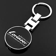 Брелки для ключей из цинкового сплава для Mercedes Benz Lorinser