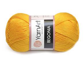 YarnArt Begonia, Ярко-желтый №5307