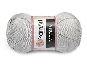 YarnArt Begonia, Светло-серый №4920