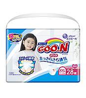 Трусики-підгузки GOO.N для дівчаток 13-25 кг (розмір BigBig (XXL), 28 шт)
