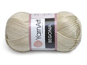 YarnArt Begonia, Темный беж №4660