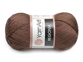 YarnArt Begonia, Коричневый №77