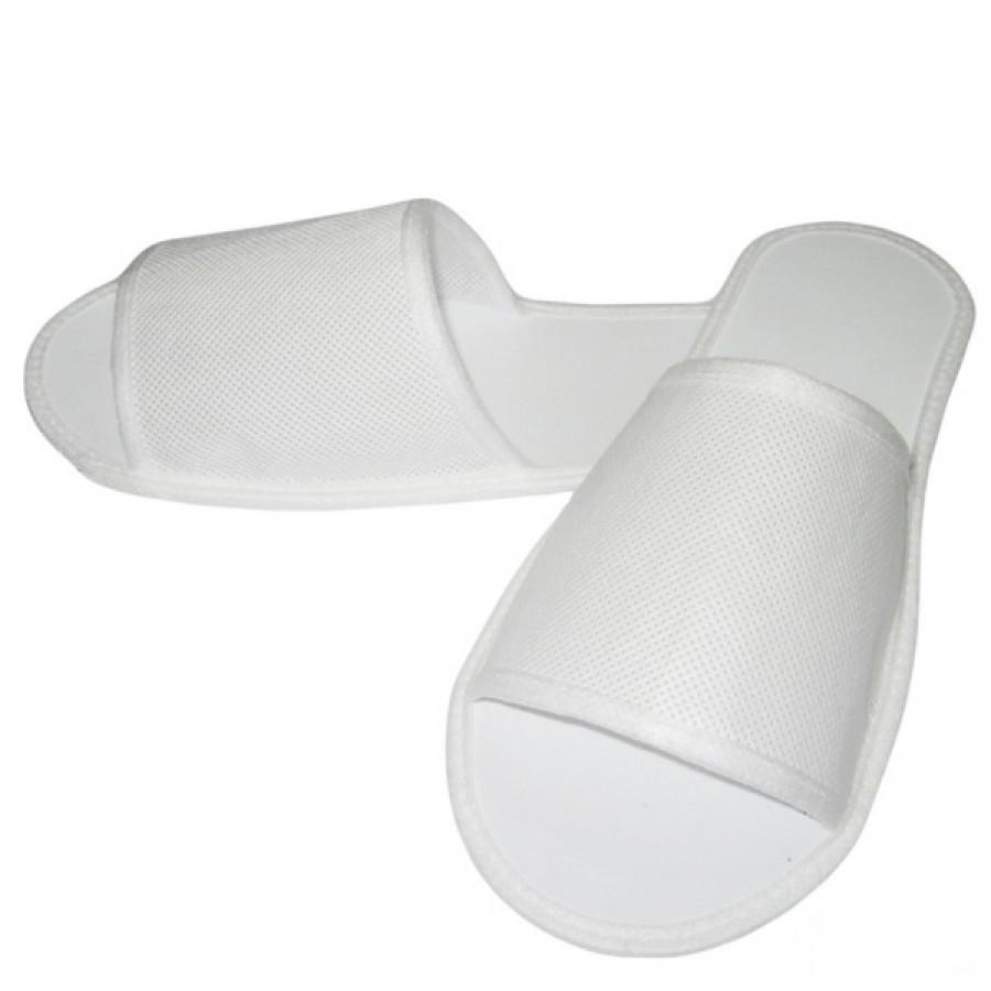 Одноразовые тапочки для гостиниц и отелей Luxyart, белый, в упаковке 100 шт (ZF-031)