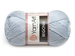 YarnArt Begonia, Голубой №4917