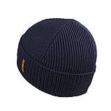 Мужская зимняя шапка КАНТА размер 56-58, синий (OC-474), фото 2