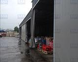Промышленные шторы пвх (трос, люверсы, карабины), фото 3