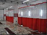 Промышленные шторы пвх (трос, люверсы, карабины), фото 4