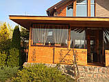 Мягкие окна, шторы ПВХ для кафе и ресторанов, фото 6