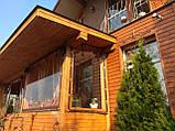 Мягкие окна, шторы ПВХ для кафе и ресторанов, фото 7