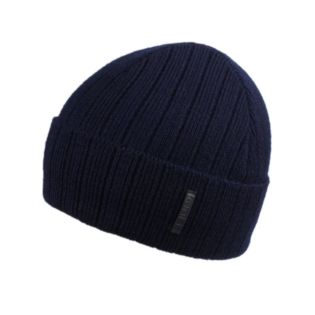 Мужская зимняя шапка КАНТА размер 56-58, синий (OC-487)