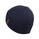 Мужская зимняя шапка КАНТА размер 56-58, синий (OC-488), фото 2
