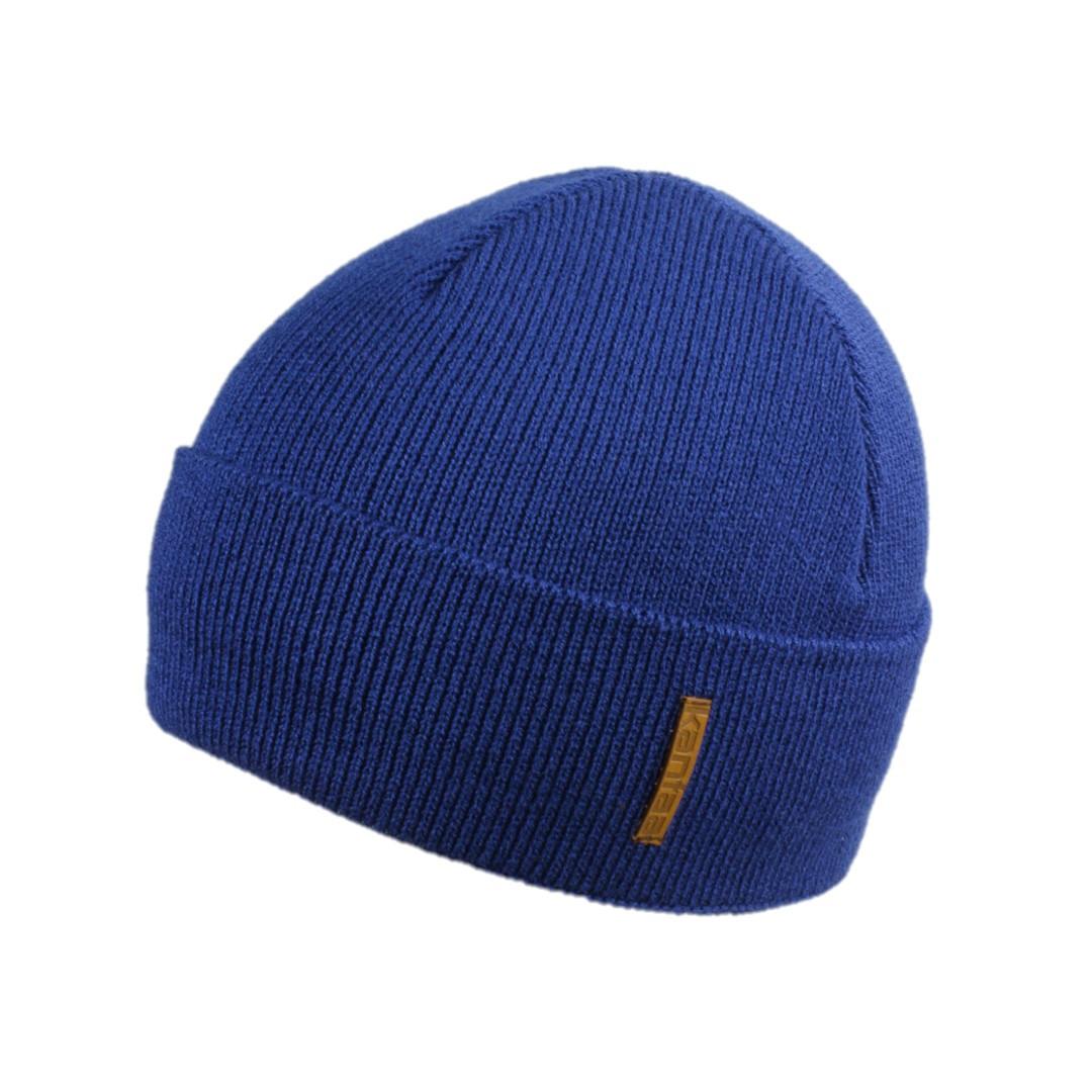 Мужская зимняя шапка КАНТА размер 56-58, синий (OC-499)