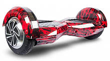 "Гироборд Smart Balance самобаланс 8"", красный"