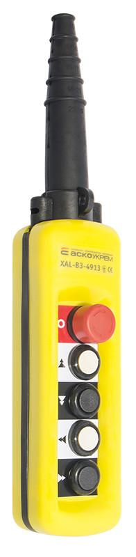 Пульт  ПКТ 4 ( XAL B3-4913)  IP65 двухскоростной с блокировочной кнопкой