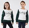 Десткий рождественский свитшот  с оленями