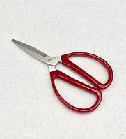 Ножиці DE XIAN з пластикової червоною ручкою, Китай