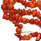 Сколы Камня Говлит Крупные Оранжевые, Размер 6-12*4-8 мм, Около 85 см нить, Бусины Натуральный Камень, фото 6