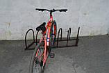 """Стоянка для велосипедов """" Диагональ"""" на 5 мест, фото 4"""
