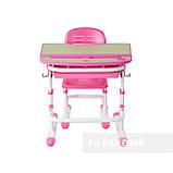 Дитяча парта зі стільчиком FunDesk Sorriso Pink, фото 4