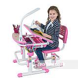 Дитяча парта зі стільчиком FunDesk Sorriso Pink, фото 5