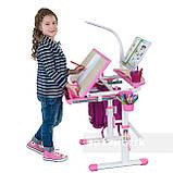 Дитяча парта зі стільчиком FunDesk Sorriso Pink, фото 6