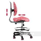 Детское ортопедическое кресло FunDesk SST6 Pink, фото 7