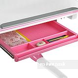Стол-трансформер FunDesk Amare Pink + Книжная полка FunDesk SS16, фото 6