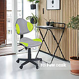 Детское компьютерное кресло FunDesk LST3 Green-Grey, фото 5