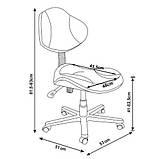 Детское компьютерное кресло FunDesk LST3 Green-Grey, фото 6