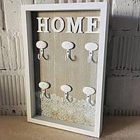 """Настінна ключниця-вішалка """"Sweet Home"""" (30*20*3 див.), фото 1"""