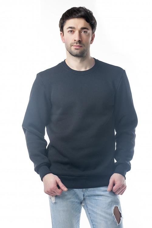 Свитшот мужской с начесом оптом и в розницу, кофта, свитер, толстовка оптом и в розницу