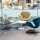 Кресло Сван мягкое металл ткань Grupo SDM, фото 4