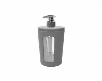 Дозатор для жидкого мыла Berossi Scarlet 300 мл дымчато-серый