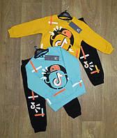 Детский теплый костюм Тик Ток турецкий,интернет магазин,турецкий детский трикотаж,трехнитка