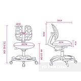 Подростковое кресло для дома FunDesk Primo Grey, фото 5