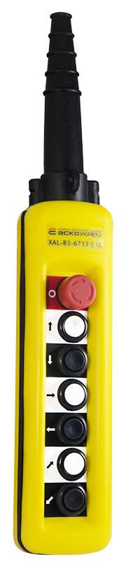 Пульт  ПКТ 6 ( XAL B3-6713)  IP65 с блокировочной кнопкой
