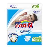 Підгузники GOO.N для дітей 4-8 кг (розмір S, на липучках, унісекс, 84 шт)