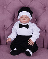 Зимний комплект на выписку для новорожденного мальчика набор Classic Boy, фото 3
