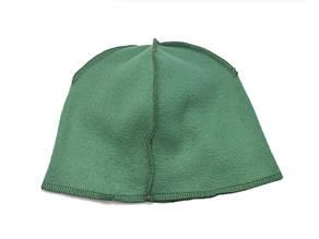 Флисовая подкладка для шапки 43см, Зеленая