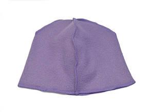 Флисовая подкладка для шапки 43см, Сиреневая