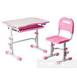 Комплект парта + стул трансформеры Vivo Pink FUNDESK, фото 2