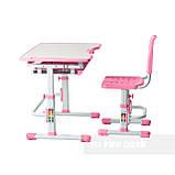 Комплект парта + стул трансформеры Vivo Pink FUNDESK, фото 5