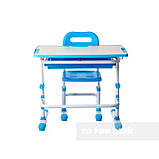 Комплект парта + стул трансформеры Vivo Blue FUNDESK, фото 6