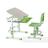 Комплект парта + стул трансформеры Vivo Green FUNDESK, фото 3