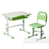 Комплект парта + стул трансформеры Vivo Green FUNDESK, фото 4