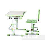 Комплект парта + стул трансформеры Vivo Green FUNDESK, фото 5