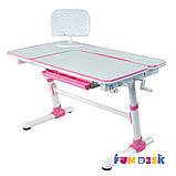 Детский стол-трансформер FunDesk Invito Pink, фото 8