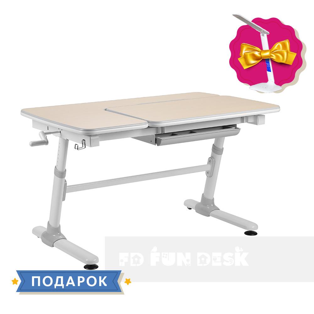 Учнівський стіл-трансформер FunDesk Invito Grey