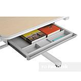 Ученический стол-трансформер FunDesk Invito Grey, фото 5