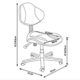 Комплект для школьников Fundesk парта Magico Grey + кресло LST3 Green, фото 8